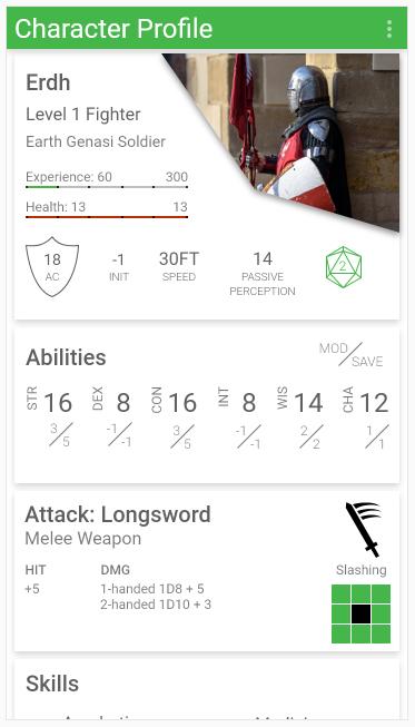 Erdh-profile